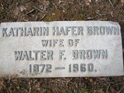 Katharin Hafer Brown