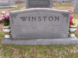 Margaret Alice <I>Bell</I> Winston