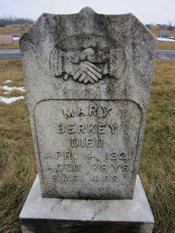 Mary <I>Blough</I> Berkey