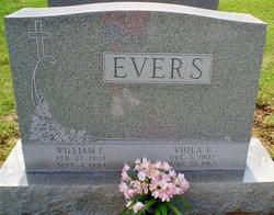 William E Evers, Sr