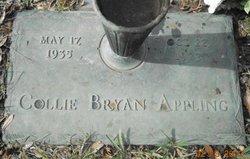 Collie Bryan Appling, Jr