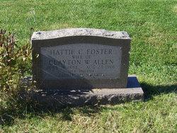 Hattie C. <I>Foster</I> Allen