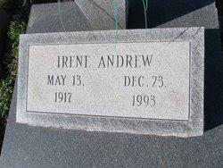 """Irene """"Willie"""" <I>Gatewood</I> Andrew"""
