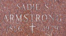 Sadie <I>Shaner</I> Armstrong