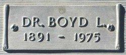 Dr Boyd L. Greever