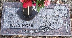 Christopher Michael Baysinger