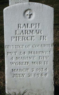 PVT Ralph Larmar Pierce, Jr