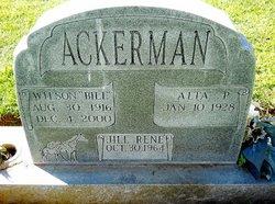 "Wilson N. ""Bill"" Ackerman"