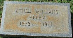Ethel <I>Millians</I> Allen