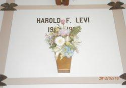 Harold F Levi