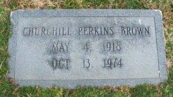 Churchill Perkins Brown