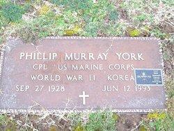 Phillip Murray York