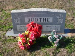 """Horace William """"Billy"""" Boothe Jr."""