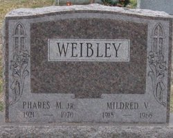 Phares M Weibley, Jr
