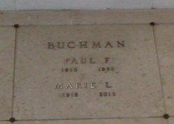 Marie L. <I>Smith</I> Buchman