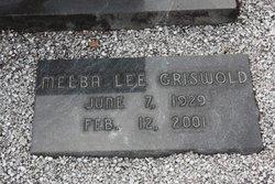 Melba Lee Griswold