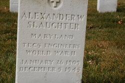 Alexander W. Slaughter