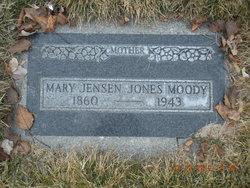"""Mary """"Marie"""" <I>Jensen</I> Moody"""