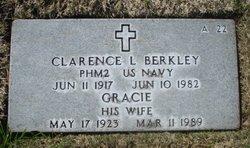 Clarence L Berkley