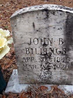 John B Billings