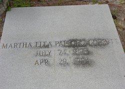 Martha Ella <I>Pafford</I> Corbitt