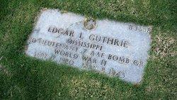 2LT Edgar L Guthrie