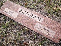Fannie Vera <I>Forsythe</I> Roddam