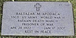 """Sgt Baltazar Marino """"Wally"""" Apodaca"""