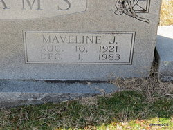 Maveline J <I>Jenkins</I> Adams