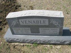 "Oscar Cleveland ""Slim"" Venable"