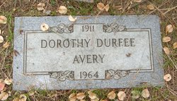Dorothy Louise <I>Durfee</I> Avery