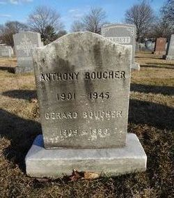 "Antoine Adelard ""Anthony"" Boucher"