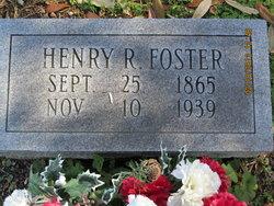 Henry R Foster