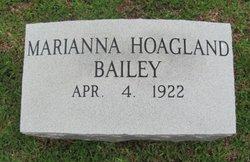 Marianna <I>Hoagland</I> Bailey