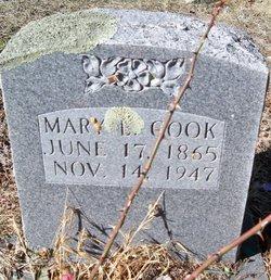 Mary Etta <I>Winters</I> Cook