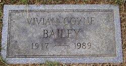 Vivian <I>Coyne</I> Bailey