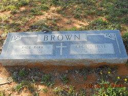 Cecilia Josephine <I>Heye</I> Brown