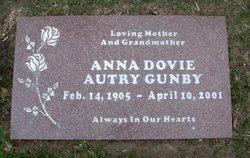 Anna Dovie <I>Autry</I> Gunby