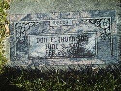 Don E. Thompson