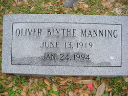 Oliver Blythe Manning