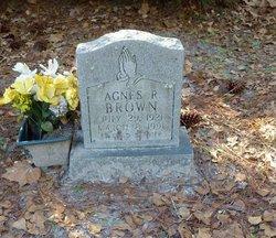 Agnes R Brown