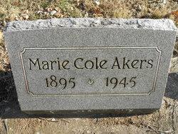 MARIE <I>COLE</I> AKERS