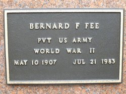 Bernard F Fee
