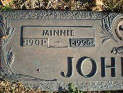 Minnie <I>Sparkman</I> Johnson