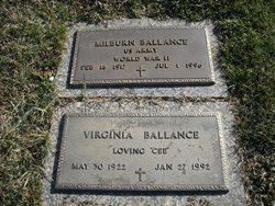 "Thelma Virginia ""Cee"" <I>Deaton</I> Ballance"