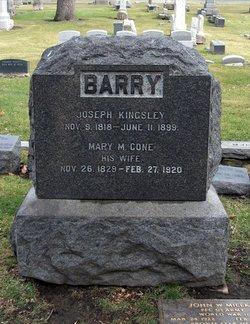 Mary Marniva <I>Cone</I> Barry
