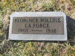 Florence Josephine <I>Rollins</I> LaForce
