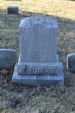 Mary Elizabeth <I>Wagner</I> Thomas