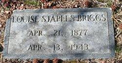 Louise <I>Staples</I> Briggs