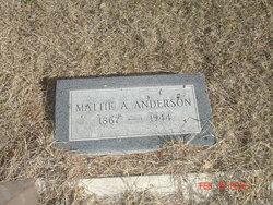 Mattie Virginia <I>Bishop Abbey-</I> Anderson